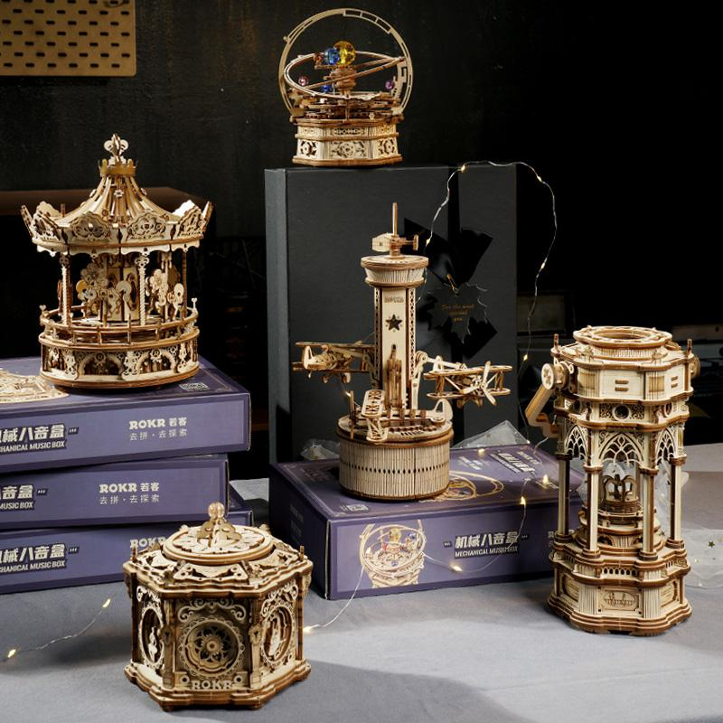 Robotime Mechanical Music Boxes