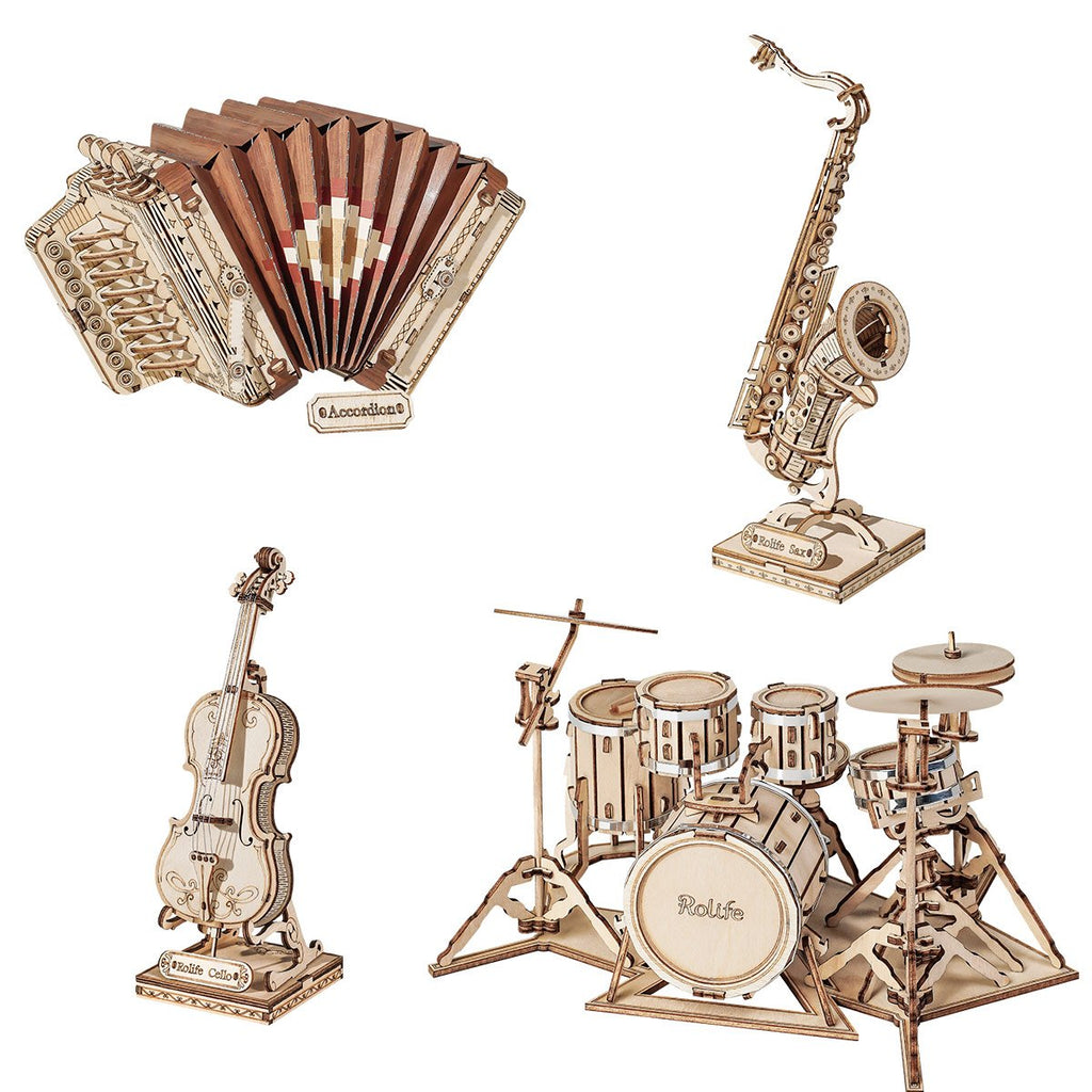 Robotime Musical Instrument Collection