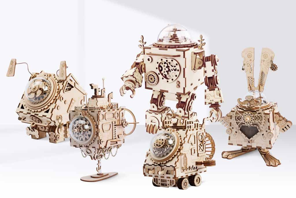 Steampunk Music Box Collection