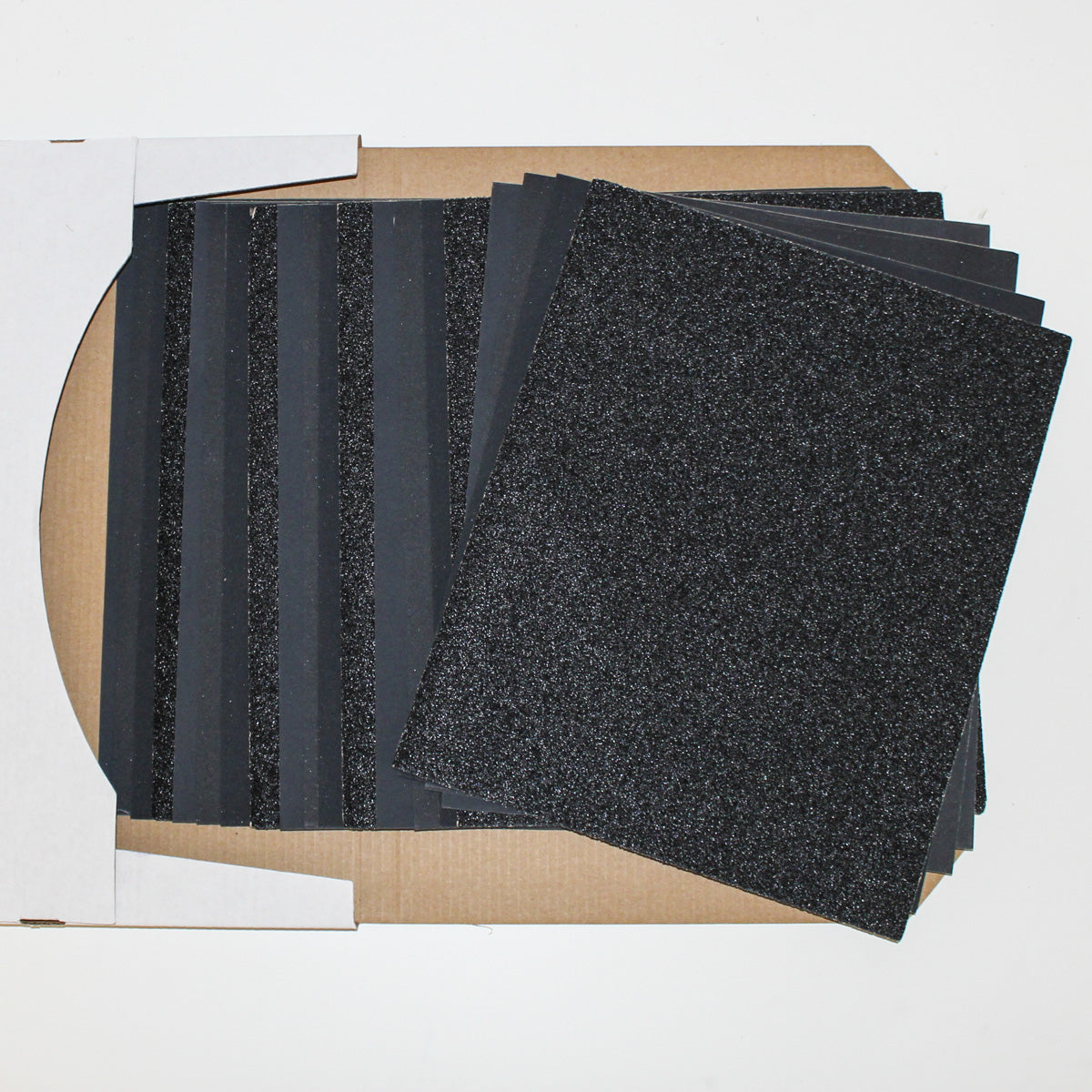 Wet Amp Dry Sandpaper Pack For Glass Bottle Cutting Projects