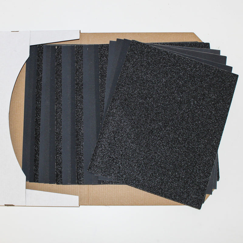 Glass Bottle Cutting Sandpaper Pack