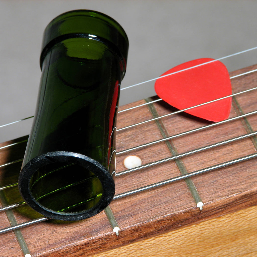 Glass Bottle Guitar Slide