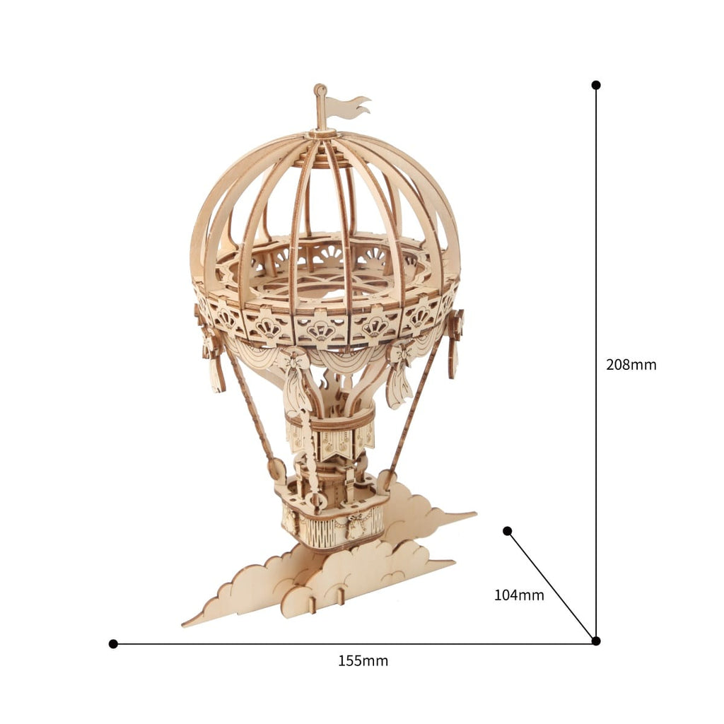 Hot Air Balloon Dimensions