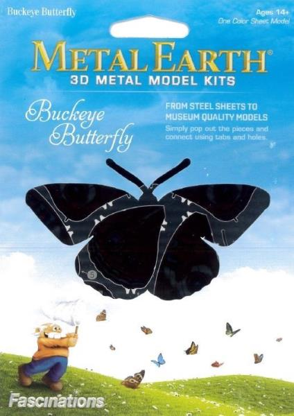Metal Earth Australia Buckeye Butterfly Diy Kits