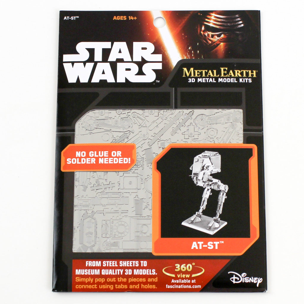 Star Wars AT-ST packaging front