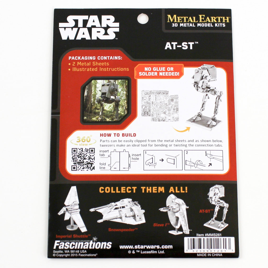 Star Wars AT-ST packaging back