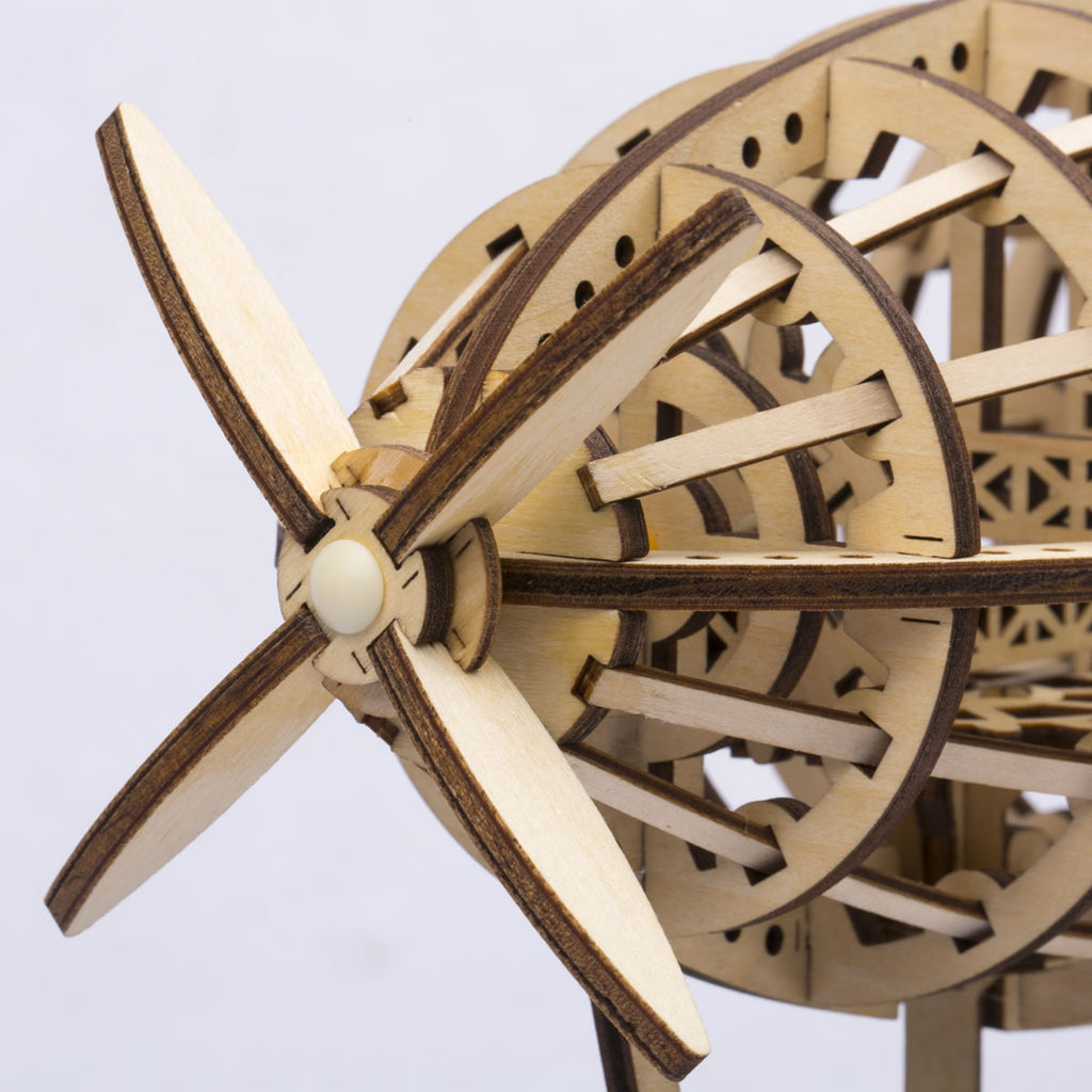 Mechanical Gears Airship