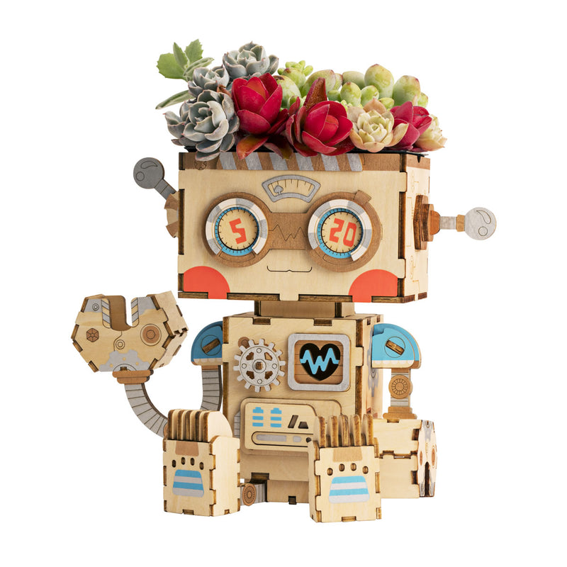 Robot Flower Pot