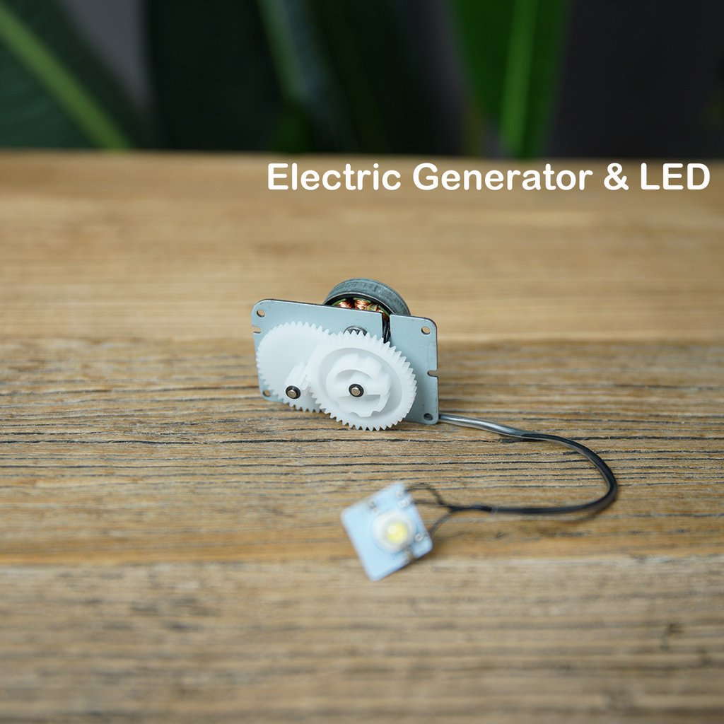Electric generator & LED