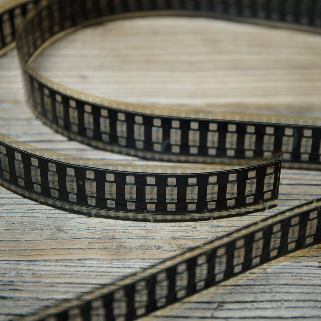 Film strip supplied