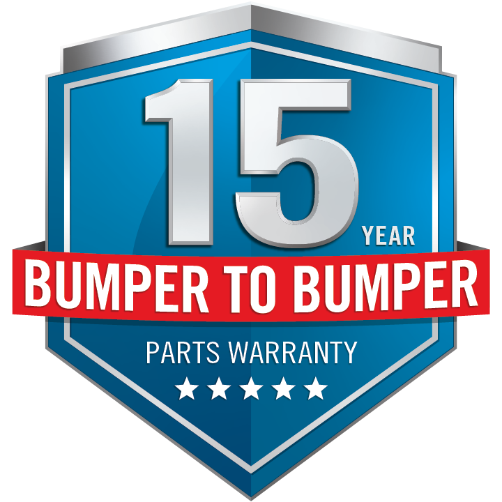 Napoleon Rogue 15 Year Bumper to Bumper Warranty