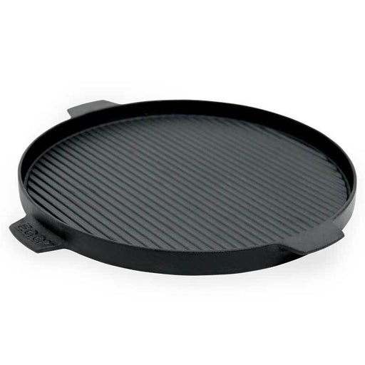 Big Green Egg Cast-Iron Dual-Sided Plancha Griddle - Chadwicks & Hacks, Hamilton Ontario