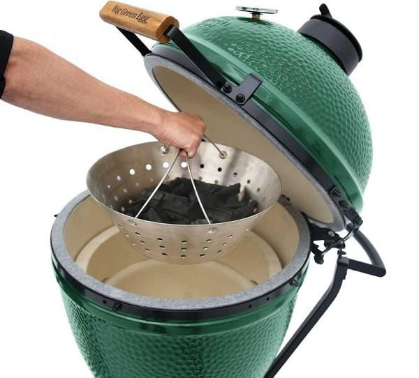 Big Green Egg Stainless Steel Fire Bowl - Chadwicks & Hacks, Hamilton Ontario