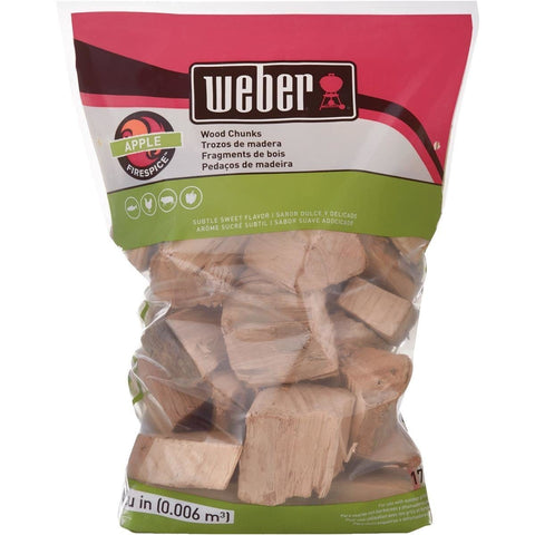 Weber Wood Chunks (4Lb)
