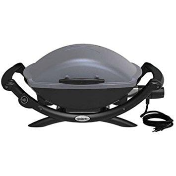 Weber Q 1400 Electric Grill - Dark Gray