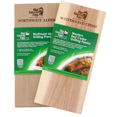 Big Green Egg Grilling Planks - Maple
