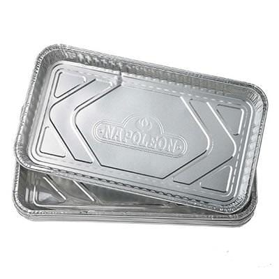 "Napolean Grease Drip Trays - 14"" X 8"" (5-Pack)"