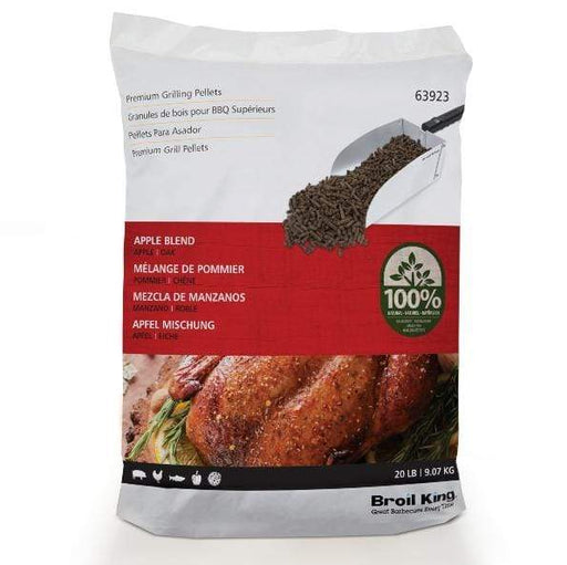 Broil King Apple Blend Pellets (20 Lb.) - 63923 - Chadwicks & Hacks, Hamilton Ontario