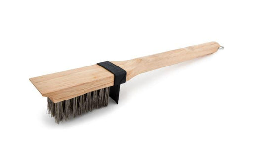 GRILL BRUSH - WOOD - HEAVY/LONG SS BRISTLES - Chadwicks & Hacks, Hamilton Ontario