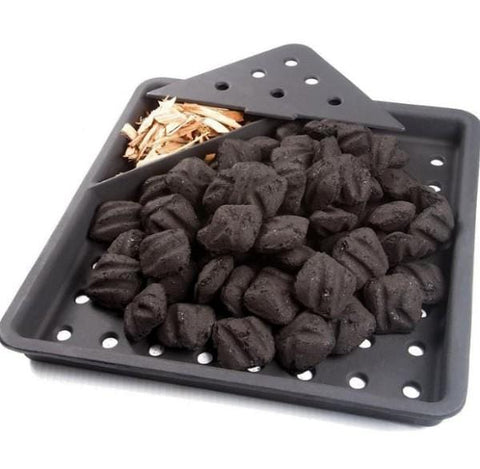 Cast Iron Charcoal & Smoker Tray