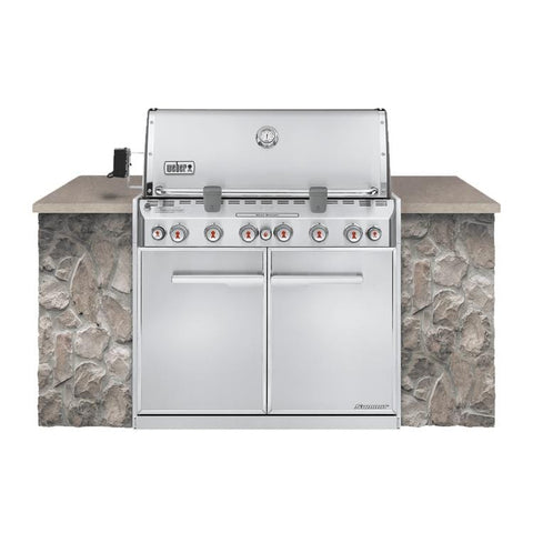 Weber Summit S-660 Built-In Gas Grill - Chadwicks & Hacks, Hamilton Ontario