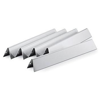 Weber 17.5 Stainless-Steel Flavorizer Bars (5-Pack) for 300 Series front controls - Chadwicks & Hacks, Hamilton Ontario