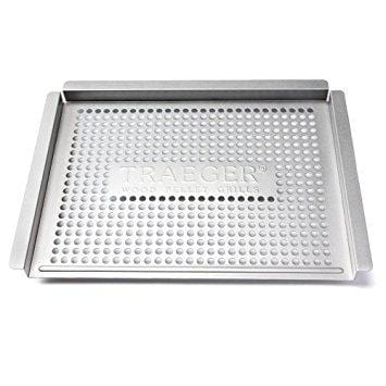 Traeger BAC585 Stainless Steel Grill Basket - Chadwicks & Hacks, Hamilton Ontario