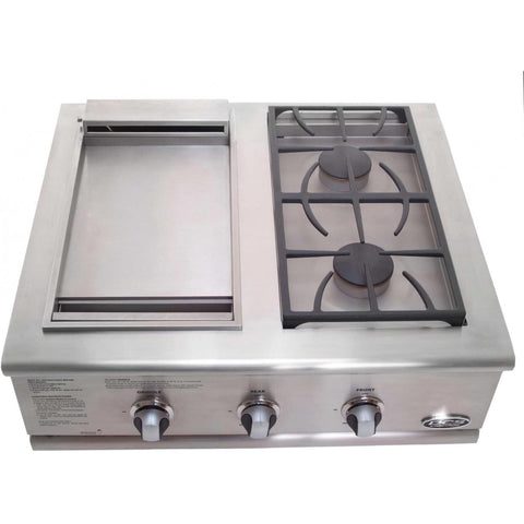 "30"" Liberty  Side Burner/ Griddle - Chadwicks & Hacks, Hamilton Ontario"