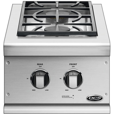 DCS Built-In Double Side-Burner