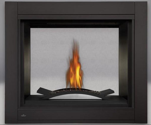 Napoleon Ascent Multi-View Direct-Vent See Thru Fireplace w/ Fire Cradle - Chadwicks & Hacks, Hamilton Ontario
