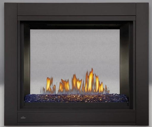 Napoleon Ascent Multi-View Direct-Vent See Thru Fireplace w/ Ember Bed - Chadwicks & Hacks, Hamilton Ontario
