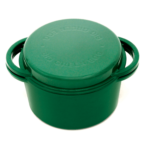 Big Green Egg Enameled Cast Iron Dutch Oven - Chadwicks & Hacks, Hamilton Ontario