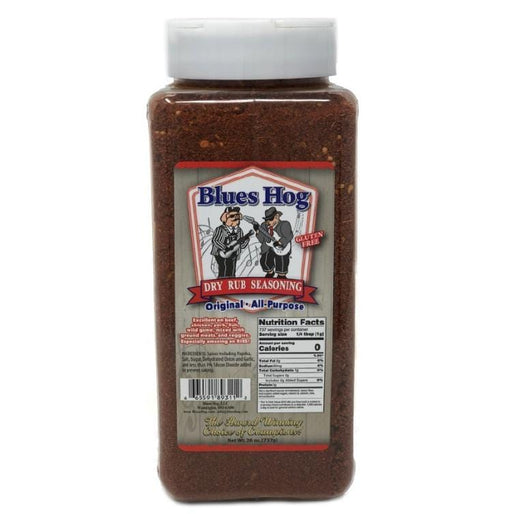 Blues Hog Original Dry Rub Seasoning 26 oz. 18/case - Chadwicks & Hacks, Hamilton Ontario