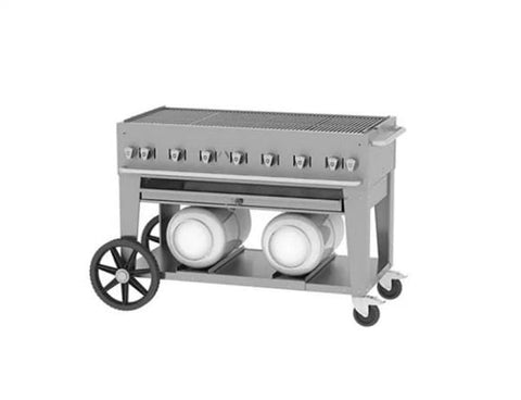 "Crown Verity 48"" Club Grill"