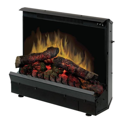 Dimplex Deluxe 23 Electric Fireplace Insert w/ Logs & Remote - Chadwicks & Hacks, Hamilton Ontario