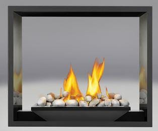 Napoleon High Definition 81 See-Thru Gas Fireplace - Chadwicks & Hacks, Hamilton Ontario