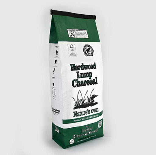 """Nature's Own"" Hardwood Lump Charcoal (17.6 lb.) - Chadwicks & Hacks, Hamilton Ontario"