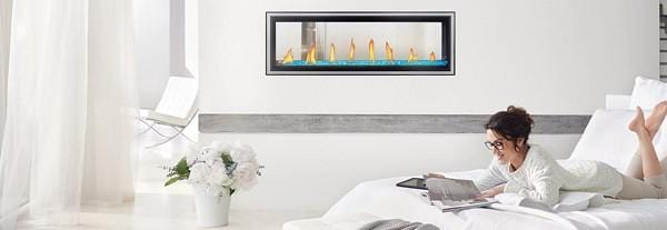 Napoleon Vector See-Thru Direct-Vent Gas Fireplace - Chadwicks & Hacks, Hamilton Ontario