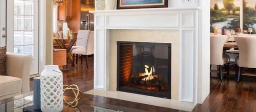 Majestic 42 Marquis II See-Thru Direct-Vent Fireplace - Intellifire Touch Ignition - Chadwicks & Hacks, Hamilton Ontario