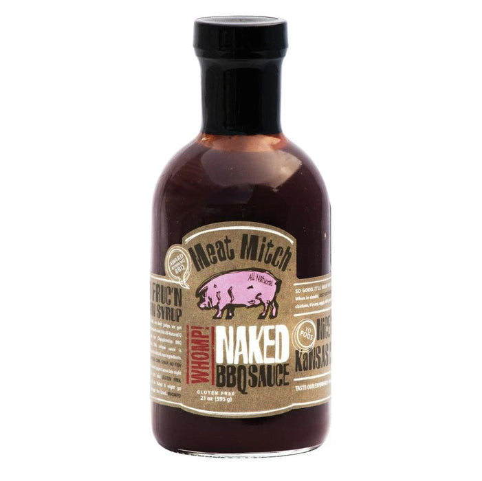 Meat Mitch WHOMP! Naked BBQ Sauce (21oz) - Chadwicks & Hacks, Hamilton Ontario
