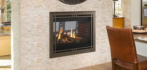 Majestic 36 Pearl II See-Through Direct-Vent Fireplace - Intellifire Touch Ignition - Chadwicks & Hacks, Hamilton Ontario