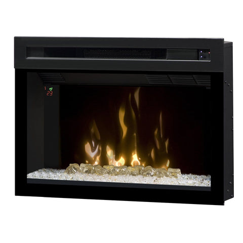 "25"" Electric Firebox w/ Ember Bed, On-Screen Display & Remote - Chadwicks & Hacks, Hamilton Ontario"