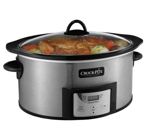 Crock Pot 6-Quart Slow Cooker w. Stovetop-Safe Cooking Pot - Chadwicks & Hacks, Hamilton Ontario