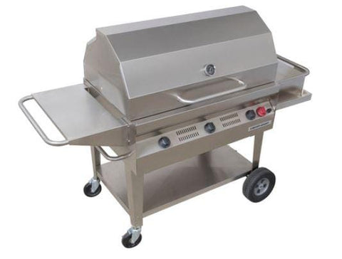 "Silver Giant 36"" Commercial BBQ"