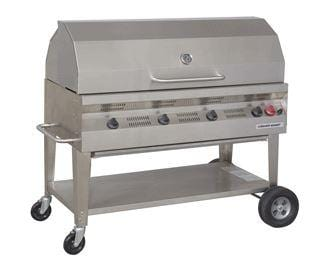 "Silver Giant 48"" Commercial BBQ"