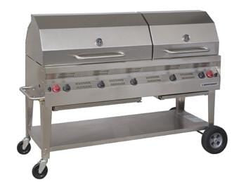 "Silver Giant 60"" Commercial BBQ"