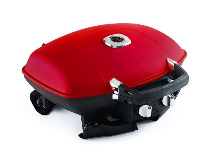 Napoleon TravelQ 285 Portable Gas Grill + Griddle (Red) - Chadwicks & Hacks, Hamilton Ontario