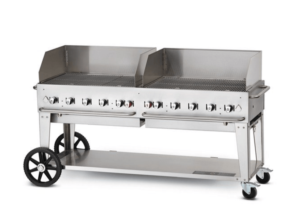"Crown Verity 72"" Mobile Grill + WindGuards - Chadwicks & Hacks, Hamilton Ontario"