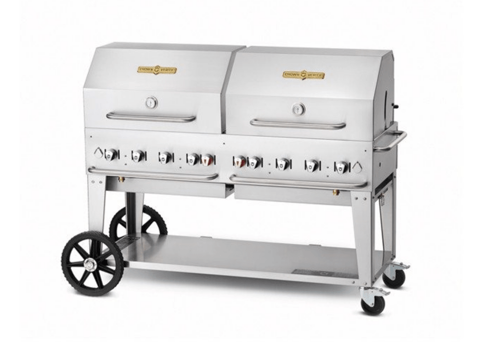 "Crown Verity 60"" Mobile Grill + RollDome Package - Chadwicks & Hacks, Hamilton Ontario"