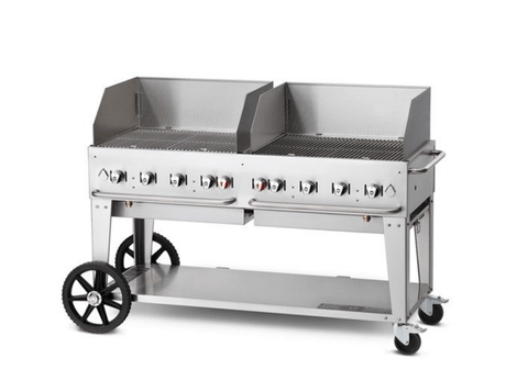 "Crown Verity 60"" Mobile Grill + WindGuard"